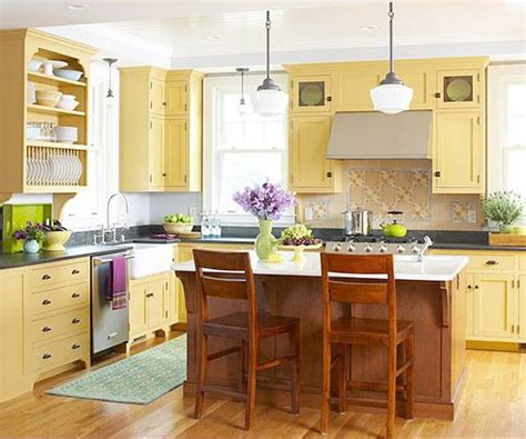 country kitchen color ideas yellow country kitchen ideas imgkid com the image