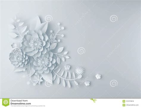 white paper flower wallpaper background abstract floral