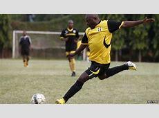 Burundi President Nkurunziza plays football amid protests