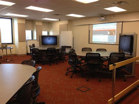 interactive learning spaces   center  ball state