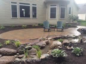 backyard patio designs pavers designer in