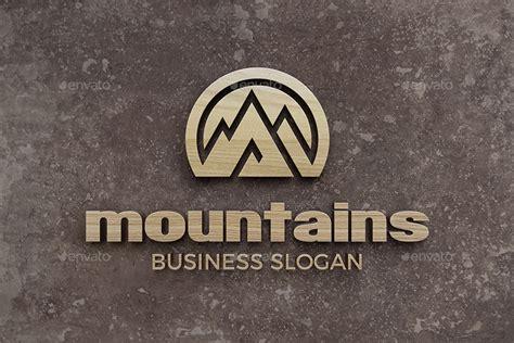 Mountain Logo - Mountains Peak Logo Templates by djjeep ...