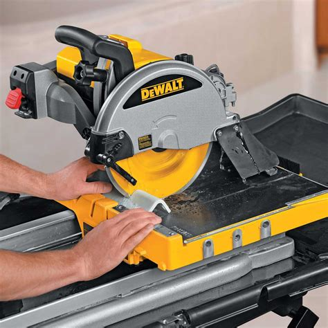 Dewalt Tile Saw Manual by Dewalt D24000s Tile Saw Stand With Dw130v Mixing Drill