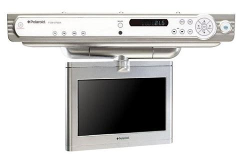 best under cabinet tv polaroid fcm 0700a 7 inch under the cabinet lcd tv best