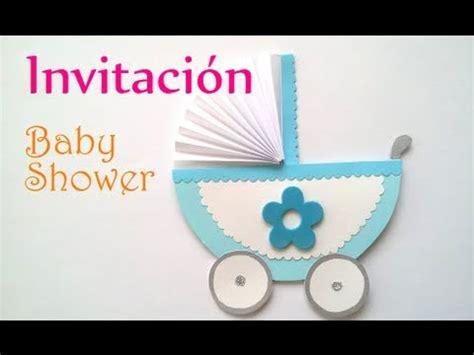 manualidades invitaciones para baby shower innova manualidades
