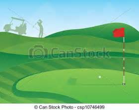 Course Golf Hole Clip Art