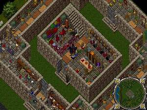 A decorated castle on the Renaissance Ultima Online free