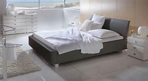 Polsterbett Grau 140x200 : polsterbett in dunkelbraun 140x200 cm und gr er harmony ~ Markanthonyermac.com Haus und Dekorationen