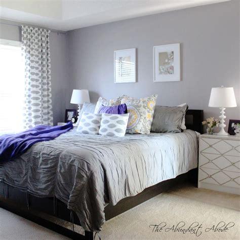 diy project parade grey bedroom design purple gray