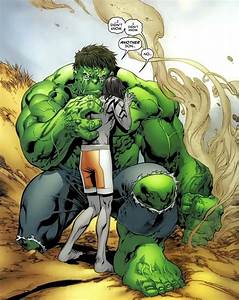 Skaar with his father The Hulk | The incredible hulk ...