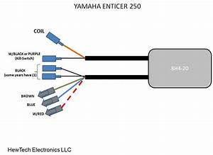 Fireplug Cdi For Yamaha Enticer 300  340 To 1984