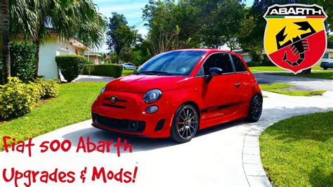 Fiat 500 Upgrades by 2013 Fiat 500 Abarth Upgrades Mods Doovi