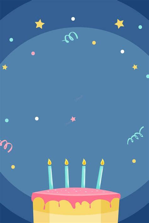 urodziny tort urodzinowy niebieski kreskowka tlo urodziny