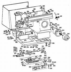 Brother Sewing Machine Motor And Foot Control Parts