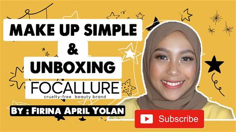 It's free of harmful alcohols, allergens, gluten, sulfates, fungal acne feeding components, parabens, polyethylene glycol (peg) and synthetic fragrances. MAKE UP SIMPLE & UNBOXING PRODUCT FOCALLURE - by Firina ...