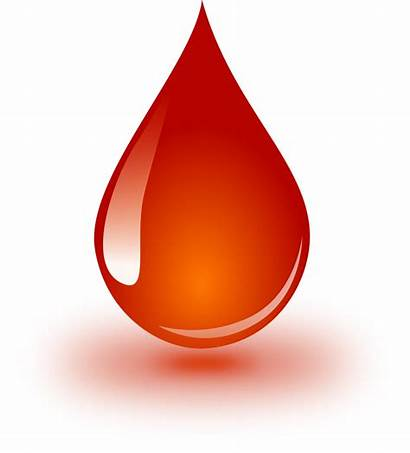 Water Clipart Drop Blood Droplets Vector Graphic