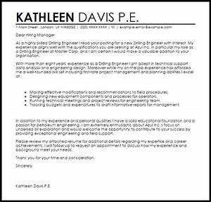 sample cover letter for computer technician job - drilling engineer cover letter sample livecareer