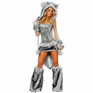 Furry Fasching Cat Girl Wolf Polar Bear Frisky Halloween ...