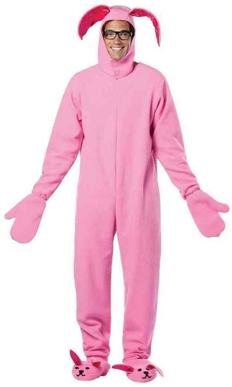 bunny suit pink  christmas story ralphie rabbit animal