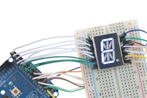 arduino 14 segment led display driver ic library