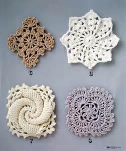 Crochet Snowflake Square Pattern