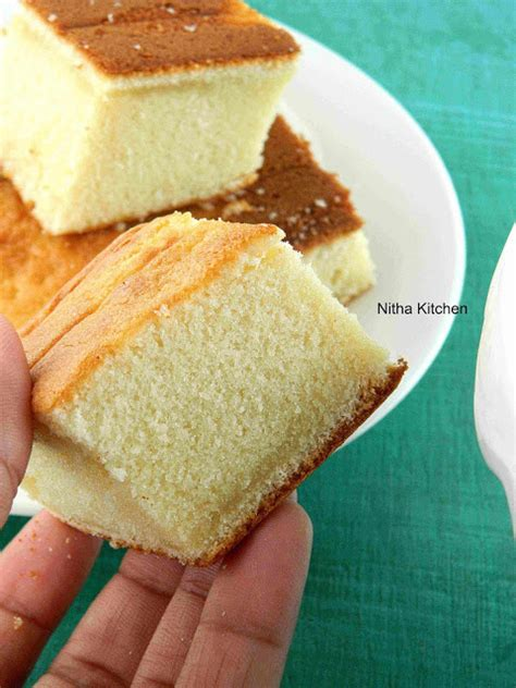 Hot Milk Sponge Cake Recipe With Eggless Option  Step By