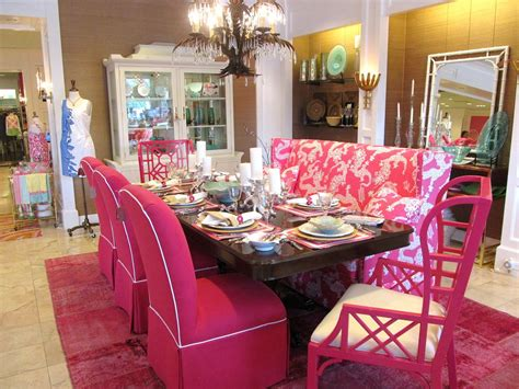 chinoiserie chic  pink chinoiserie dining room