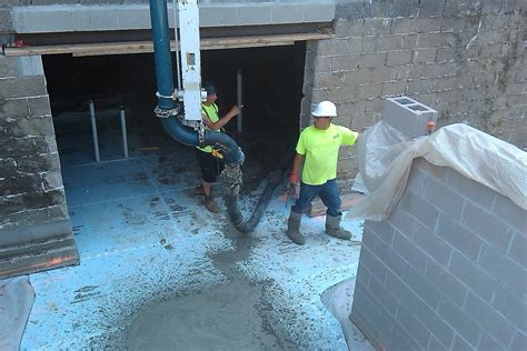 Construction Update: Pouring the New Basement Floor