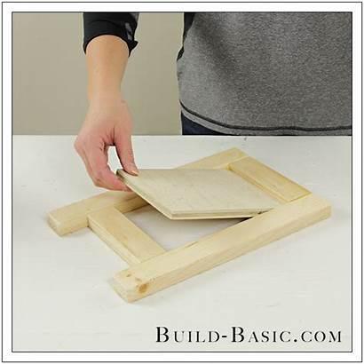 Easel Tabletop Build Basic Desk Easy Building
