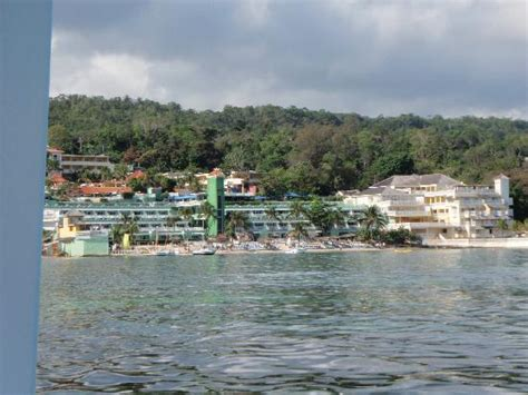 Glass Bottom Boat Ocho Rios Jamaica by View Of The Hotel From The Glass Bottom Boat Trip