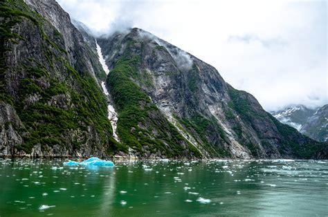 tracy arm fjord alaska juneau  photo  pixabay