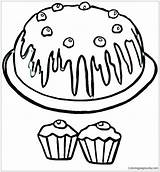 Muffin Coloring Pages Blueberry Cupcakes Clipart Getdrawings Drawing Printable Clipartmag Getcolorings sketch template