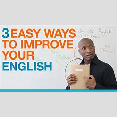 Learn English 3 Easy Ways To Get Better At Speaking English Youtube