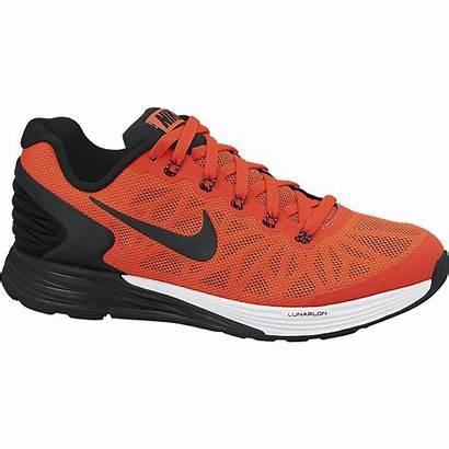 Nike Boys Running Lunarglide Shoes Crimson Bright
