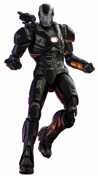 War Machine Mark Endgame Transparent Armor Marvel