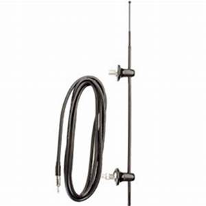 55quot mast rv antenna with 120quot cable With clifford car alarm antenna