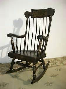 ethan allen barnstable stenciled rocking chair rocker