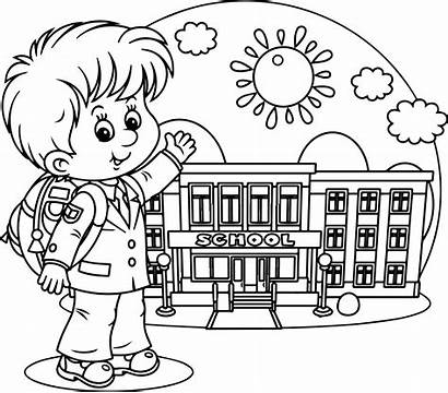 Coloring Printable Days Elementary Kindergarten Template Students