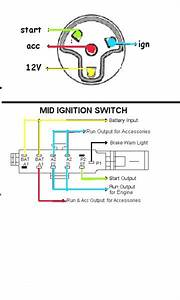 Universal Ignition Switch Wiring Diagram Webtor Me Within