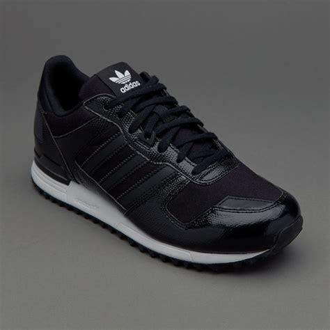 womens shoes adidas originals womens zx  core black ba