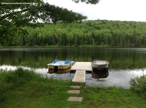 chalet 224 louer laurentides rivi 232 re vacances sur le bord d un lac id 3953