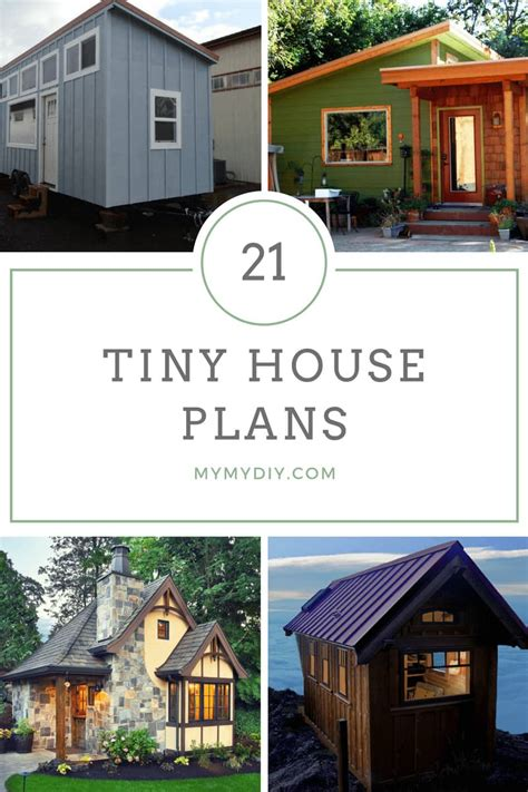 21+ DIY Tiny House Plans Free MyMyDIY Inspiring DIY