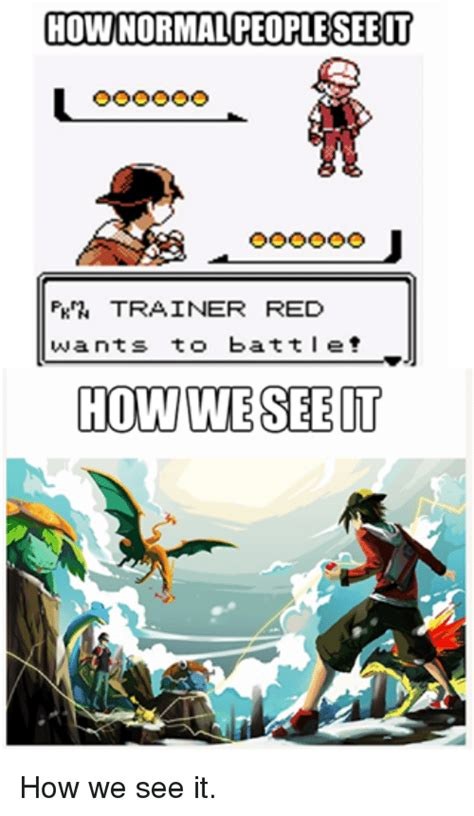 Pokemon Trainer Red Meme - pokemon trainer red meme images pokemon images