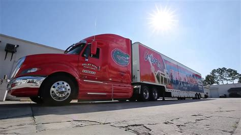 florida gators   sons moving equipment truck youtube
