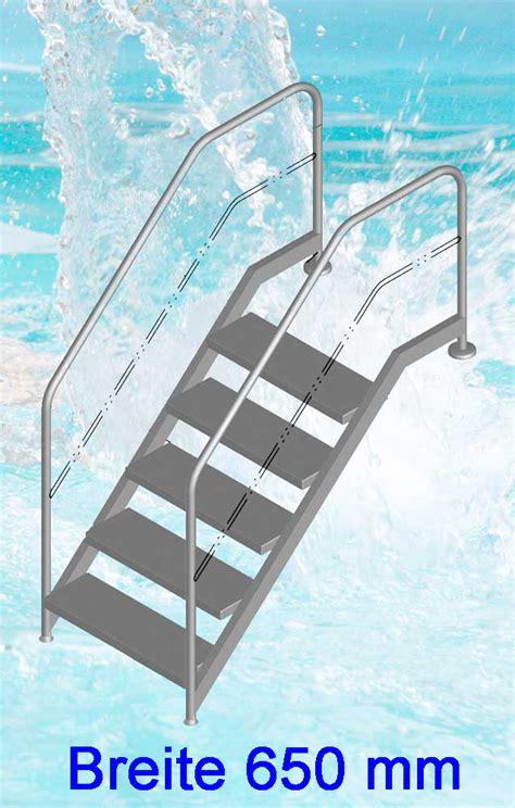 pool treppe nachrüsten schwimmbad treppen schwimmbad und saunen