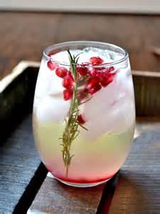 pomegranate and rosemary white sangria recipes noshon it