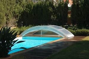 Abri Piscine Bas Coulissant : poolabri abri piscine bas telescopique ~ Zukunftsfamilie.com Idées de Décoration