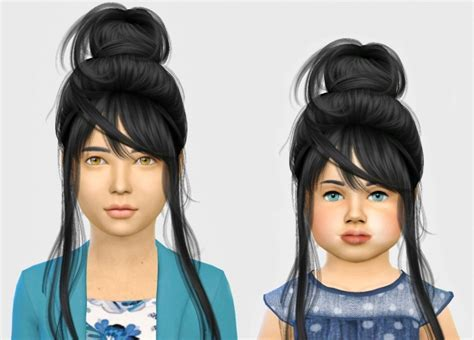 Wings os0713 hair Kids & Toddlers at Simiracle » Sims 4
