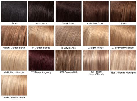 Shades Of Hair Dye by Hair Color Chart Avoid Incorrect Choice