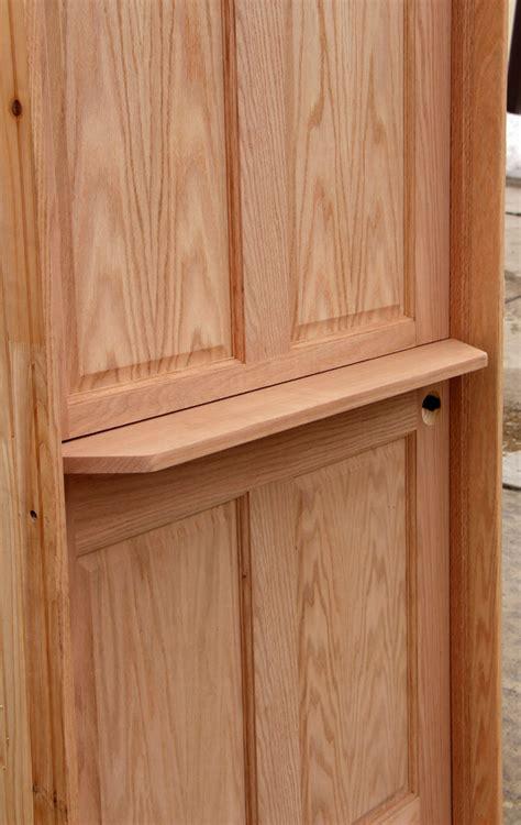 interior dutch door  shelf